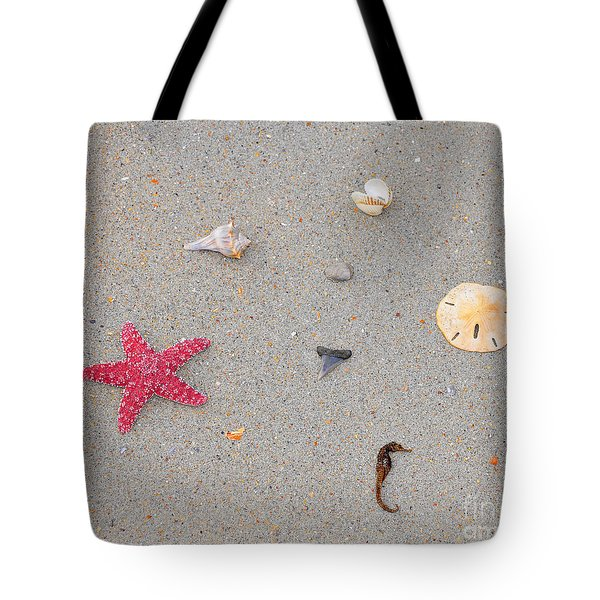 Sea Swag - Red Tote Bag by Al Powell Photography USA