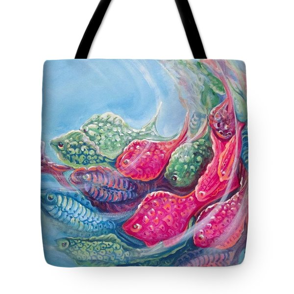 Sea Swirls Tote Bag
