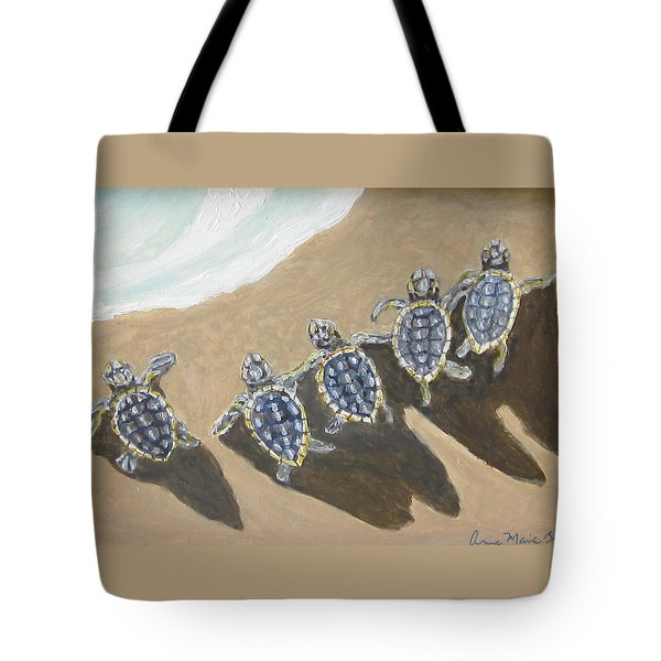 Sea Turtle Babes Tote Bag