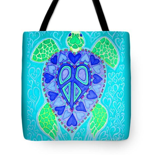 Sea Turtle Swim Tote Bag