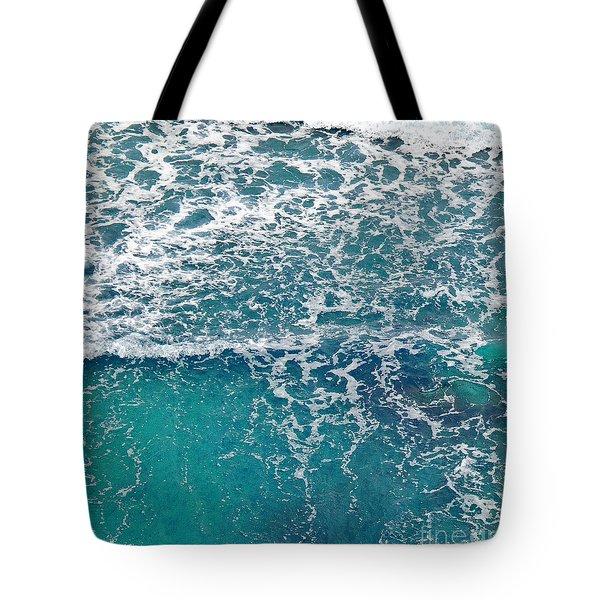 Sea View Tote Bag by Liz  Alderdice