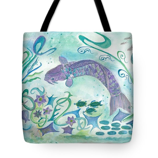 Sea World -painting Tote Bag