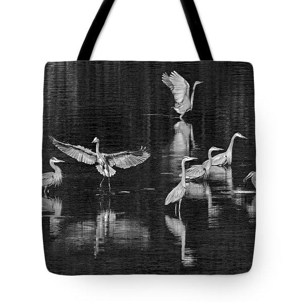 Seabeck Herons Tote Bag