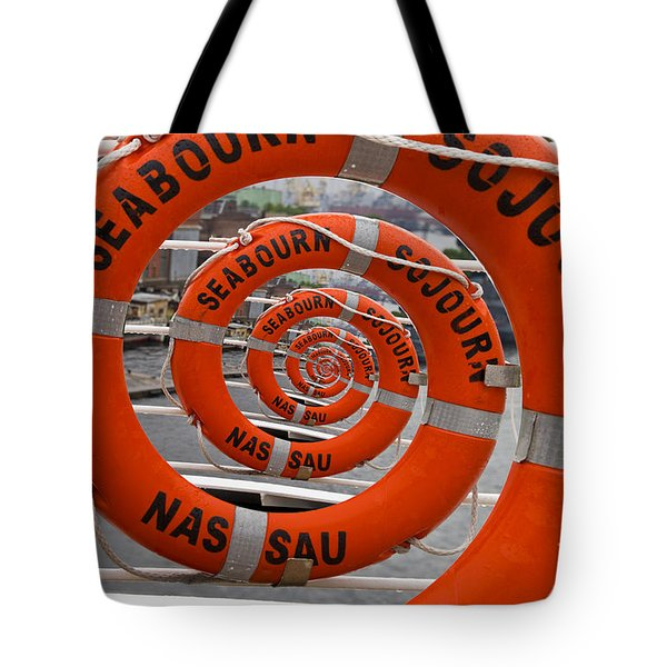 Seabourn Sojourn Spiral. Tote Bag