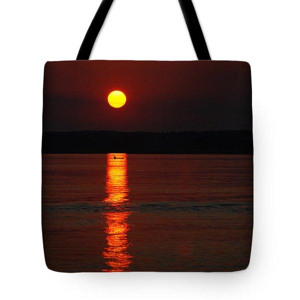 Seabrook Sunset Tote Bag