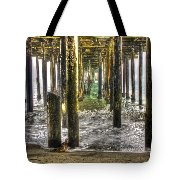 Seacliff Pier Tote Bag