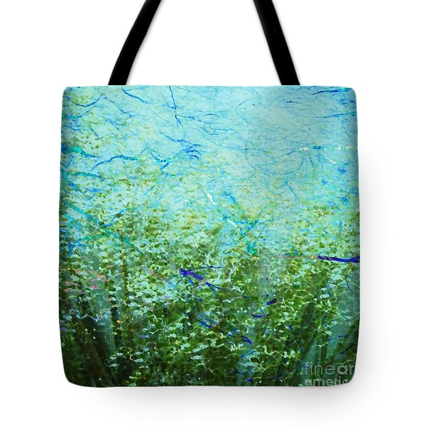 Seagrass Tote Bag by Darla Wood