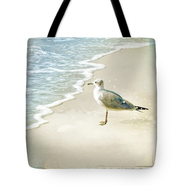 Seagull 2 Marco Island Tote Bag