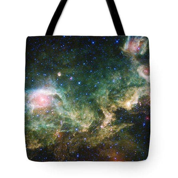 Seagull Nebula Tote Bag by Adam Romanowicz