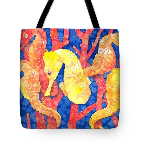 Seahorse Heaven Tote Bag