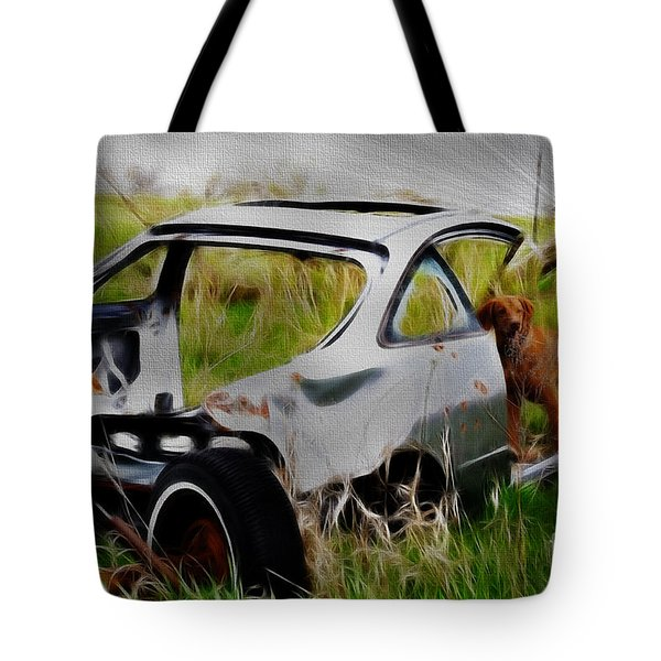 Search And Rescue Tote Bag by Liane Wright