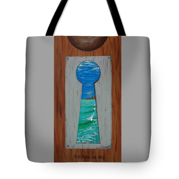 Search For The Key Tote Bag