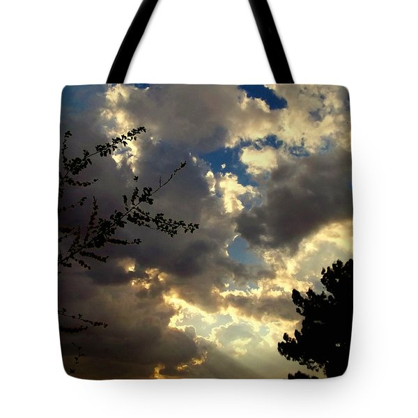 Searchlight Tote Bag by Glenn McCarthy Art and Photography