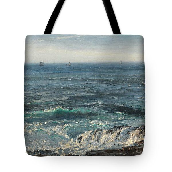 Seascape 1877 Tote Bag by Henry Moore