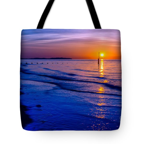Seascape Tote Bag by Adrian Evans