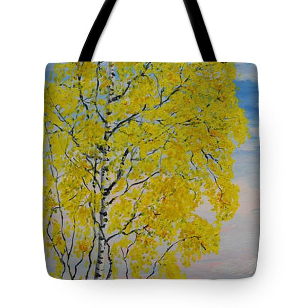 Seascape From Baltic Sea Tote Bag