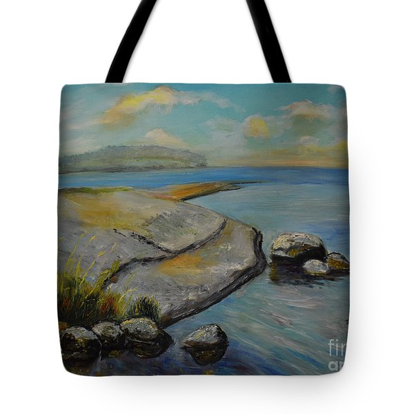 Seascape From Hamina 1 Tote Bag