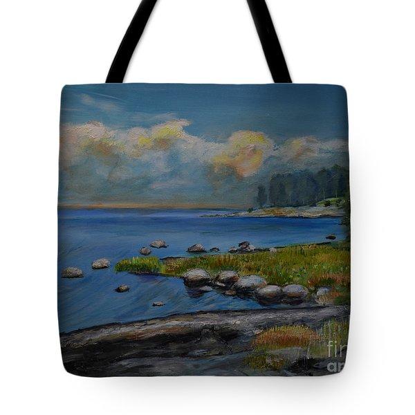 Seascape From Hamina 2 Tote Bag