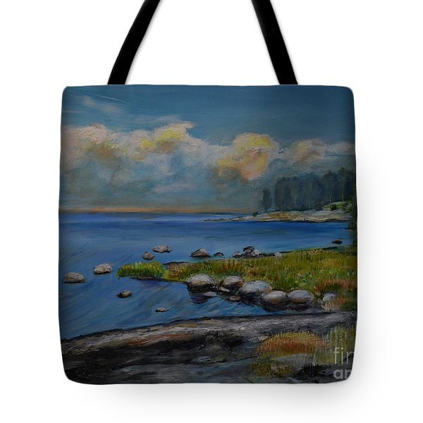 Seascape From Hamina 2 Tote Bag