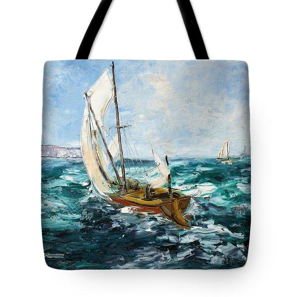 Seascape Tote Bag