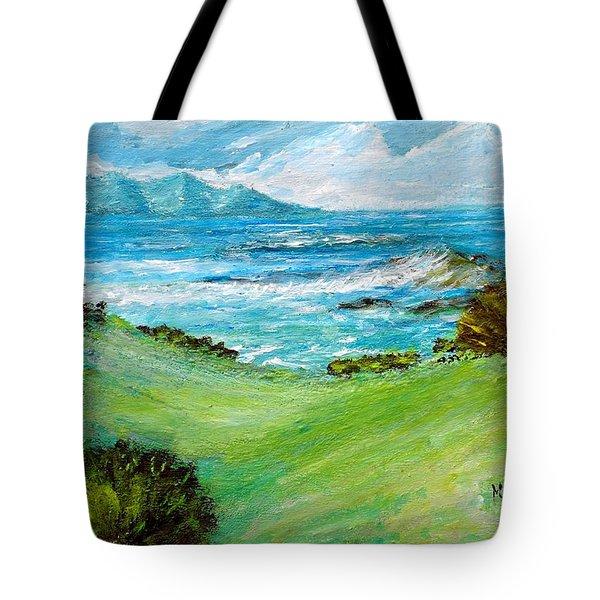Seascape Tote Bag by Mauro Beniamino Muggianu