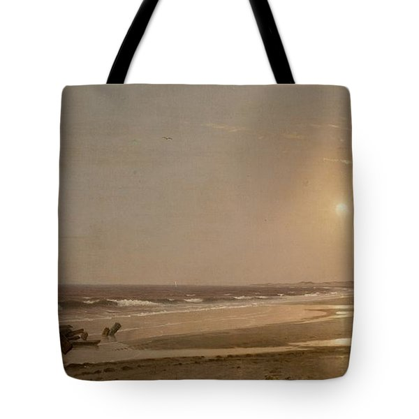 Seascape Tote Bag by William Trost Richards