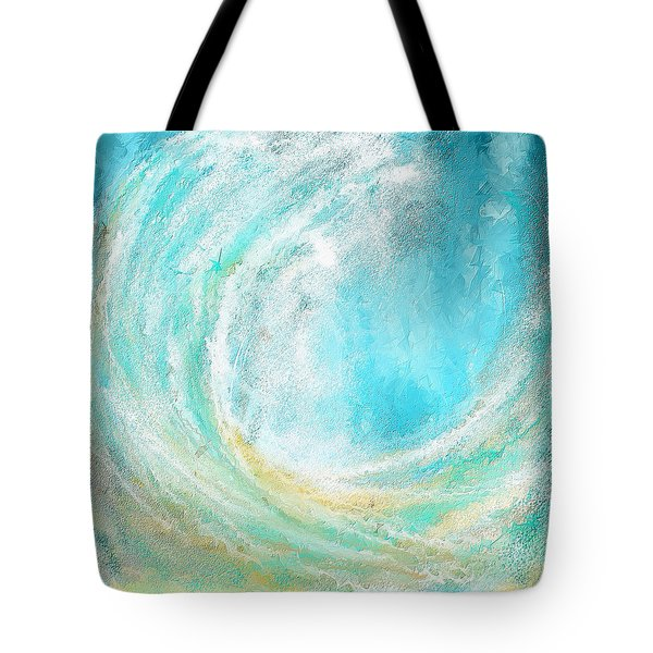 Seascapes Abstract Art - Mesmerized Tote Bag