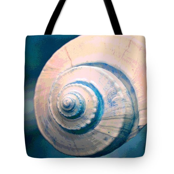 Seashell In Pastel Tote Bag