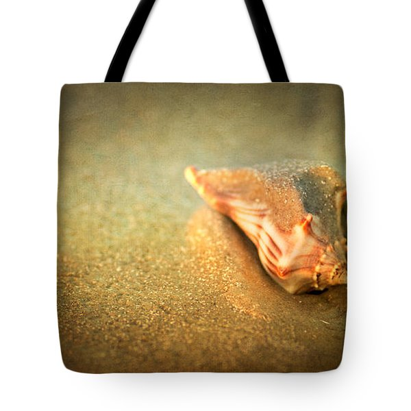Tote Bag featuring the photograph Seashell by Joye Ardyn Durham