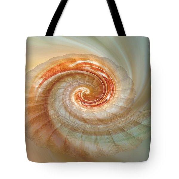 Seashell Swirl Tote Bag