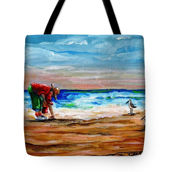 Seashells By The Seashore Tote Bag