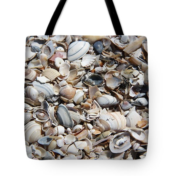Seashells On The Beach Tote Bag