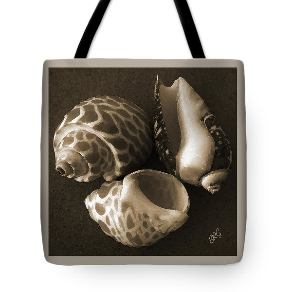 Seashells Spectacular No 1 Tote Bag by Ben and Raisa Gertsberg