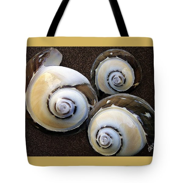 Seashells Spectacular No 23 Tote Bag by Ben and Raisa Gertsberg
