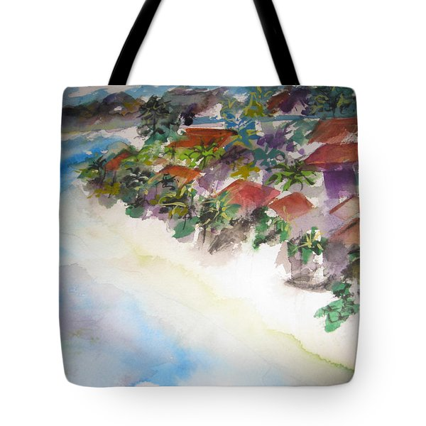 Seashore In Bali Tote Bag