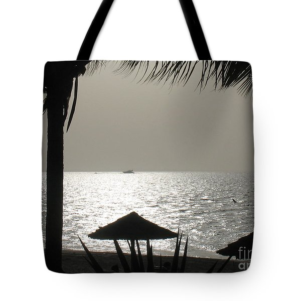 Seaside Dinner For Two Tote Bag by Patti Whitten