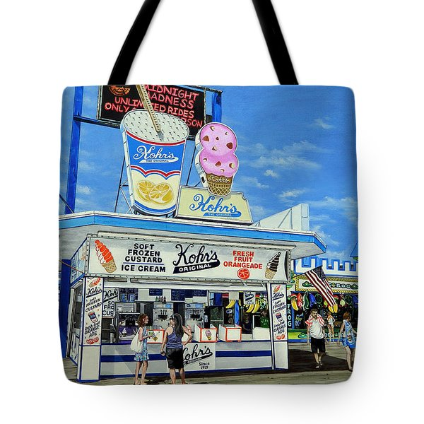 Seaside Memories Tote Bag