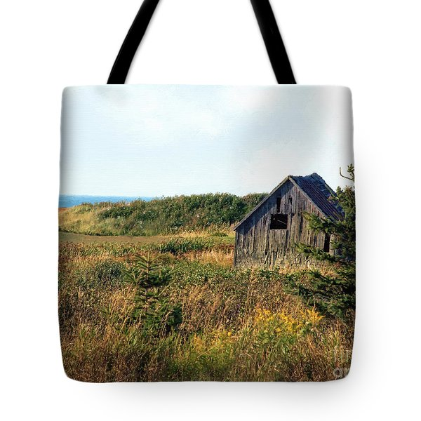 Seaside Shed - September Tote Bag by RC DeWinter
