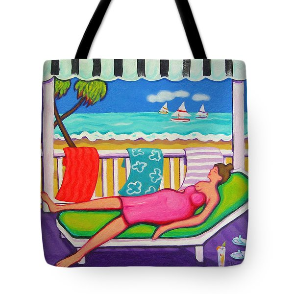 Seaside Siesta Tote Bag