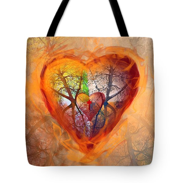 Season Of The Heart Tote Bag