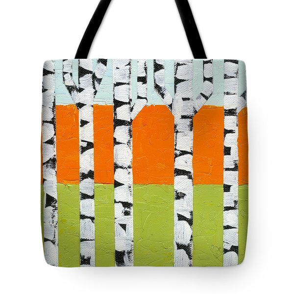 Seasonal Birches - Spring Tote Bag