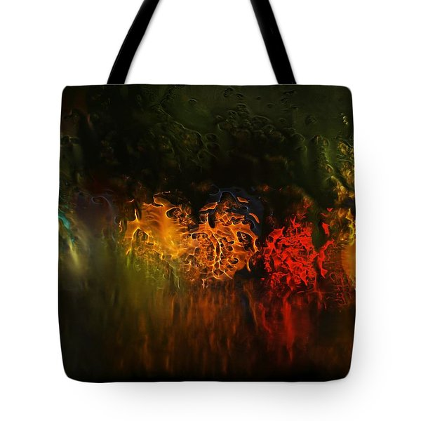 Tote Bag featuring the photograph Seasons Fireballs by Peter Thoeny
