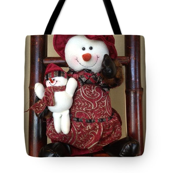 Seasons Greetings Tote Bag by Pema Hou