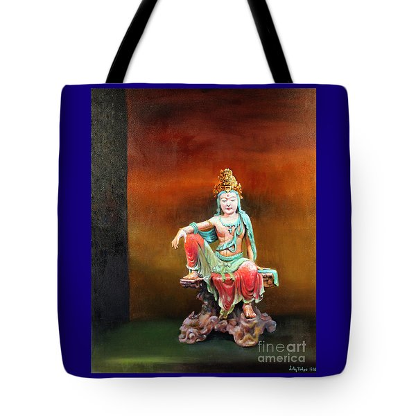 Seated Kuan Yin Tote Bag