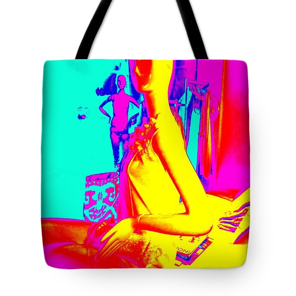 Seated Woman Tote Bag by Ed Weidman