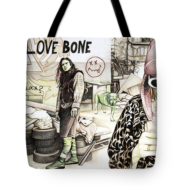 Seattle 1990's Tote Bag