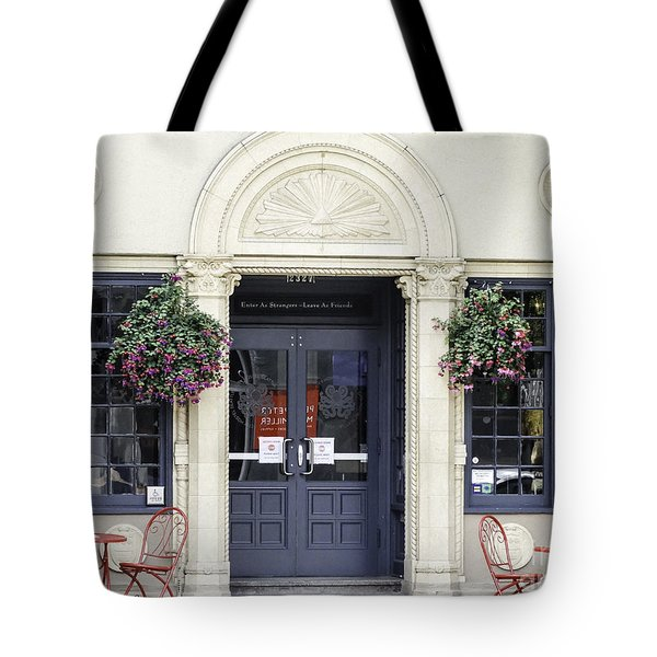 Seattle Cafe Tote Bag