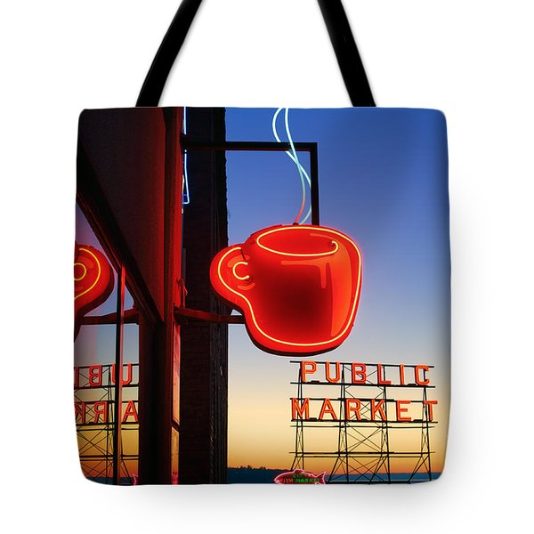 Seattle Coffee Tote Bag
