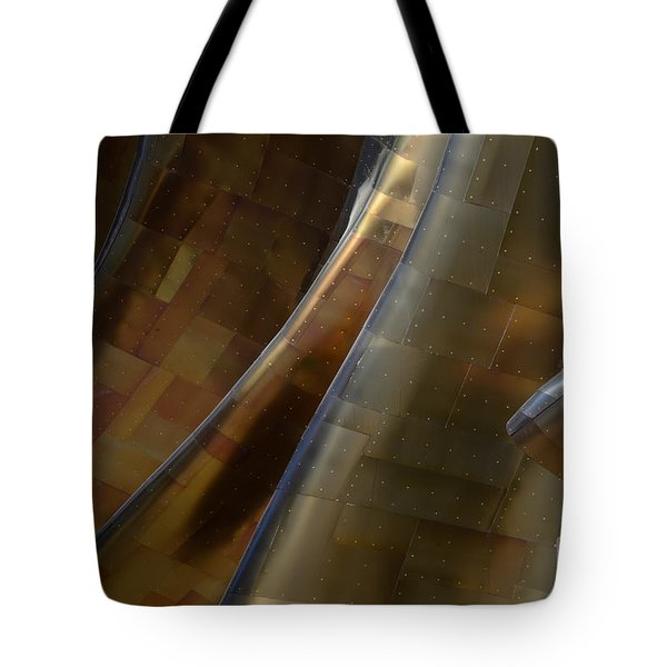 Seattle Emp Building 5 Tote Bag by Bob Christopher