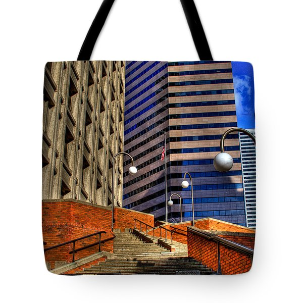 Seattle Skyscrapers IIi Tote Bag by David Patterson